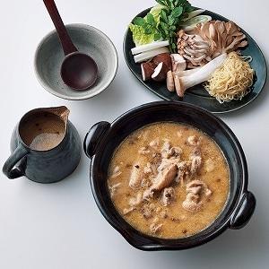 鶏の白味噌生姜鍋