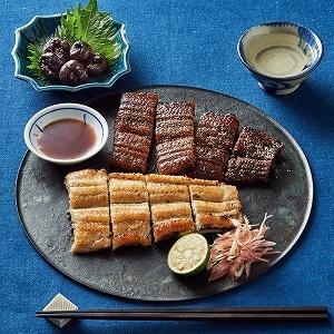 味くらべ(蒲焼・白焼・肝焼き)