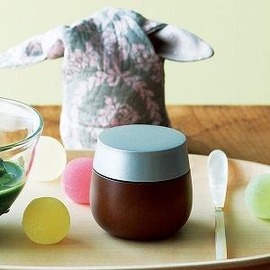 楓茶器・茶器袋と白蝶貝の茶杓3点セット