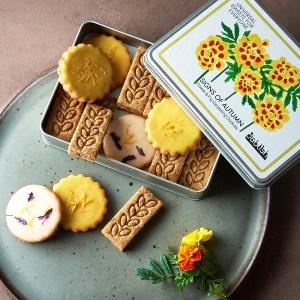 〔婦人画報限定〕SIGNS OF AUTUMN フラワー&フィグダージリンクッキー 3種18枚