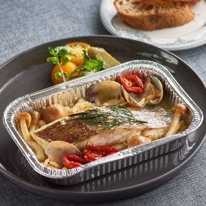 魚ホイル焼き 鯛