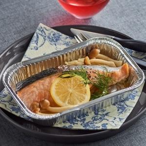 魚ホイル焼き サーモン
