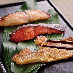 西京味噌・粕漬け(ぐじ・さわら・鮭)
