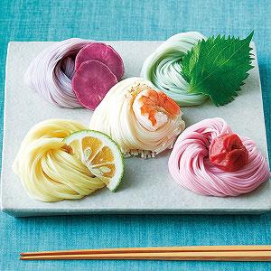 三輪素麺 色撫子 10束入り