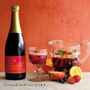ノンアルコールサングリア ハーフボトル(赤・泡)