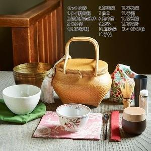 旅持ち茶籠「万歳楽」〜お茶を愉しむ16の道具 a