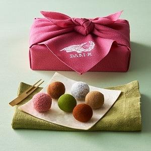 カカオが香るチョコレート・トリュフ 12粒(木箱入)