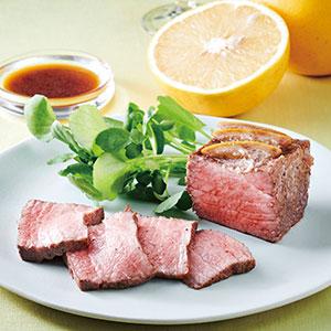 黒毛和牛グレープフルーツ漬けローストビーフ