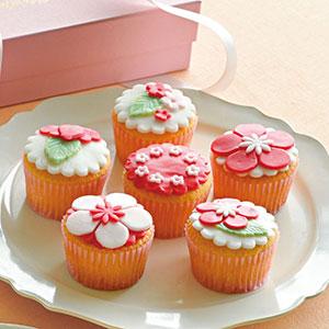 初梅のカップケーキ 6個入り