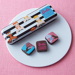 60th Anniversary Barbie×Mariebelle 3pc Ganache Tin(3ピース ガナッシュ缶) 3個入り