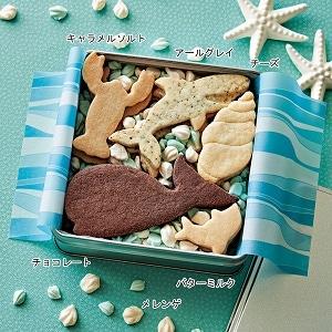 アニマルクッキー BLUE缶