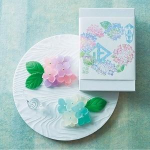琥珀糖 紫陽花