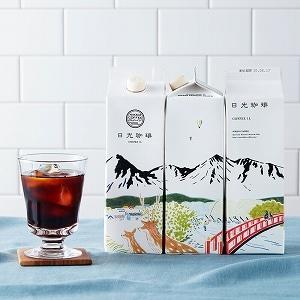 日光珈琲本格リキッドアイスコーヒー(無糖) 3本セット