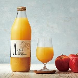 果肉入り おろしりんごジュース(化粧箱入り)