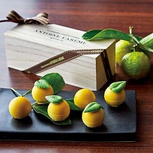 川根本町産 柚子のショコラ 6個入り