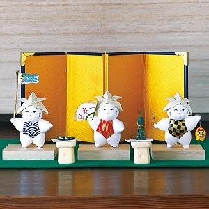 豆御所人形五月飾り「端午」2021