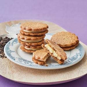 紅茶サンドクッキー(ホワイトガナッシュ) 10枚