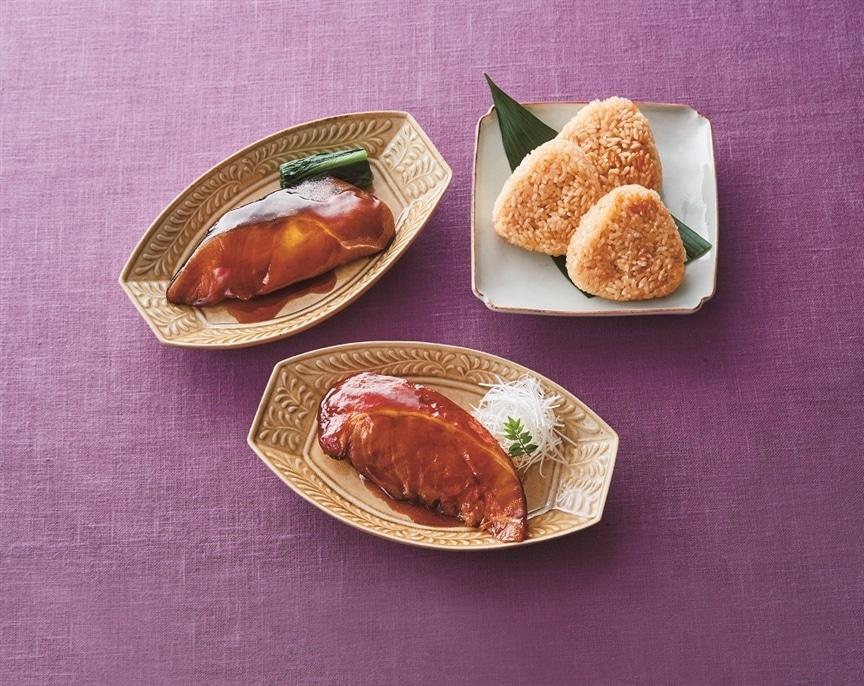 東北の本格的な煮魚が楽しめる「海心讃餐」の吉結びセット