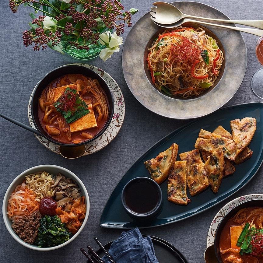 一流韓国料理店の様な味わいに感服!期間限定のお得な韓国料理セットが登場です