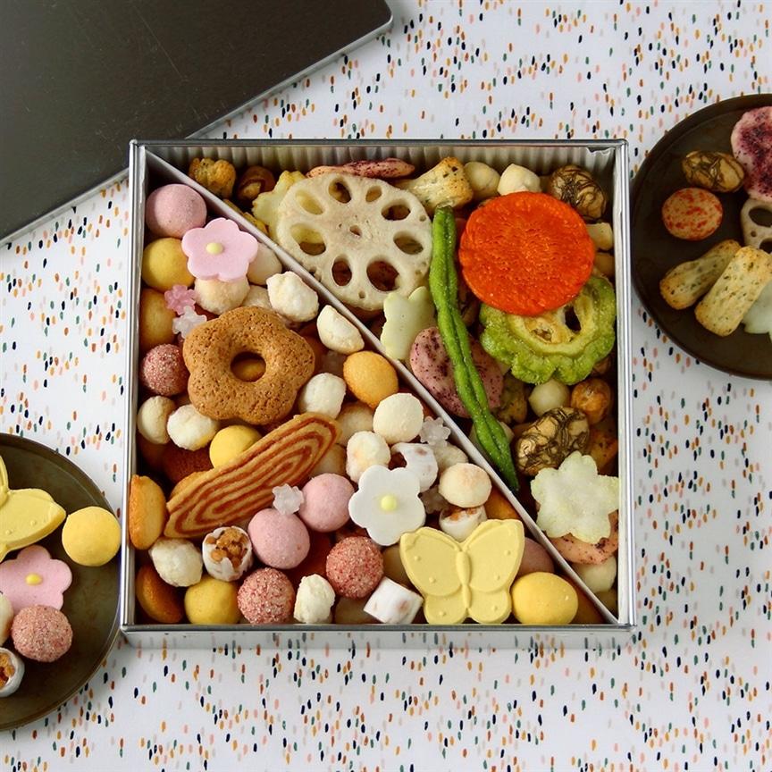 夏のご挨拶に!色とりどりの菓子を詰め合わせた『ふきよせ』