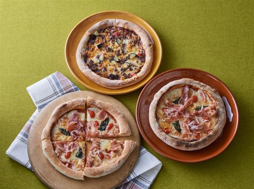 本格イタリアン!一枚一枚手作りのナチュラルピザを冷凍でお届け