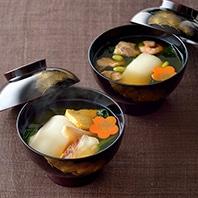 鶏肉・真鯛の雑煮