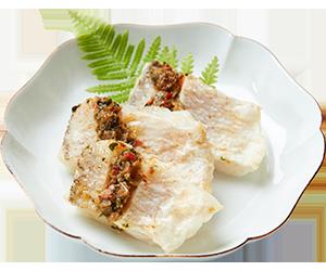 甘鯛のグリーンソース焼