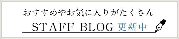 スタッフブログ更新中